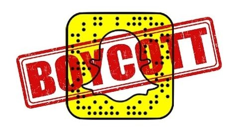 How much damage is #BoycottSnapchat doing to the company?