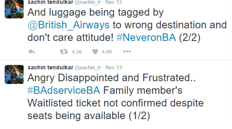 British Airways invokes God's wrath. Silly mortal.