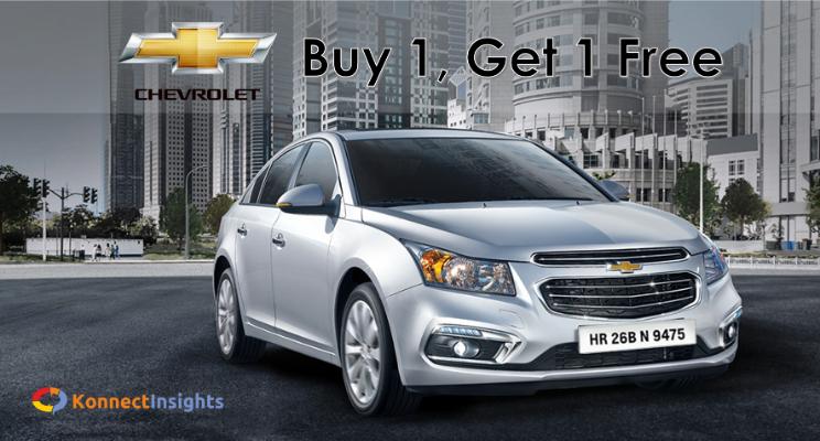 Chevrolet: Buy 1, Get 1 Free