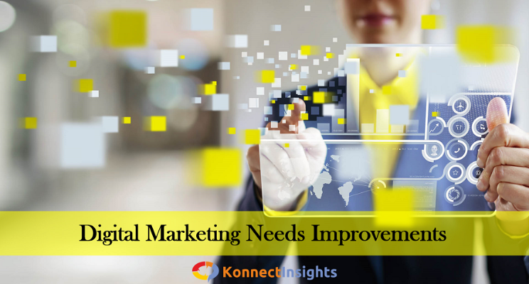 Customers Suggest That Digital Marketing Needs Improvements