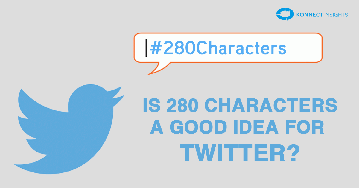Is 280 characters a good idea for Twitter?