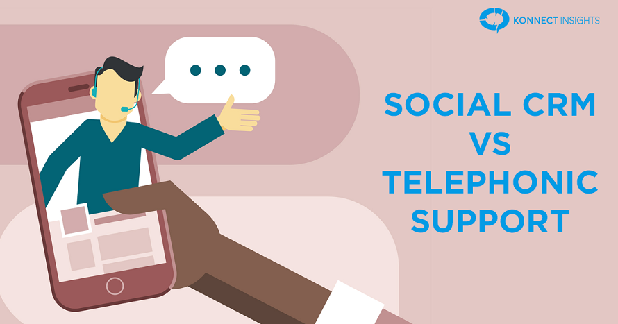 Social CRM vs Telephonic Support