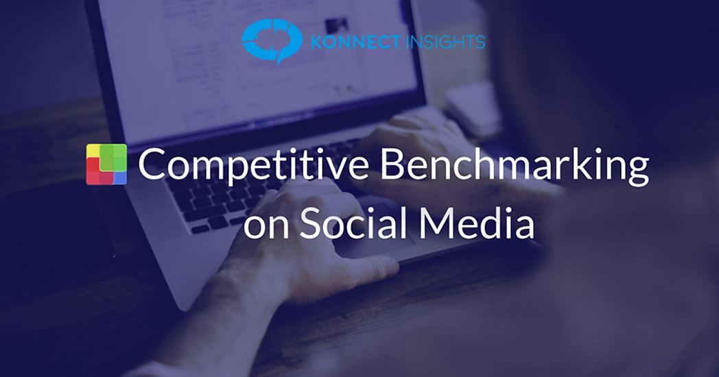 Tips to get started with competitive benchmarking on social channels