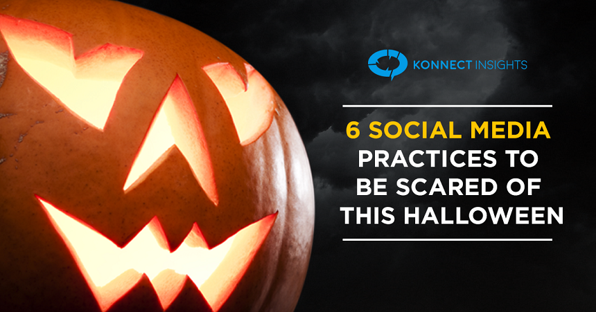 Six social media practices to be scared of this Halloween