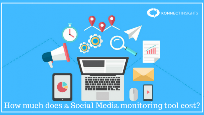 How much does a Social Media monitoring tool cost