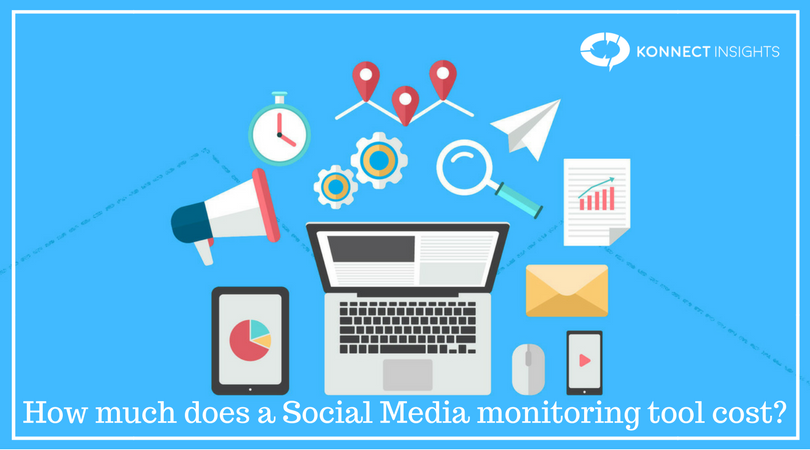 How much does a Social Media monitoring tool cost?
