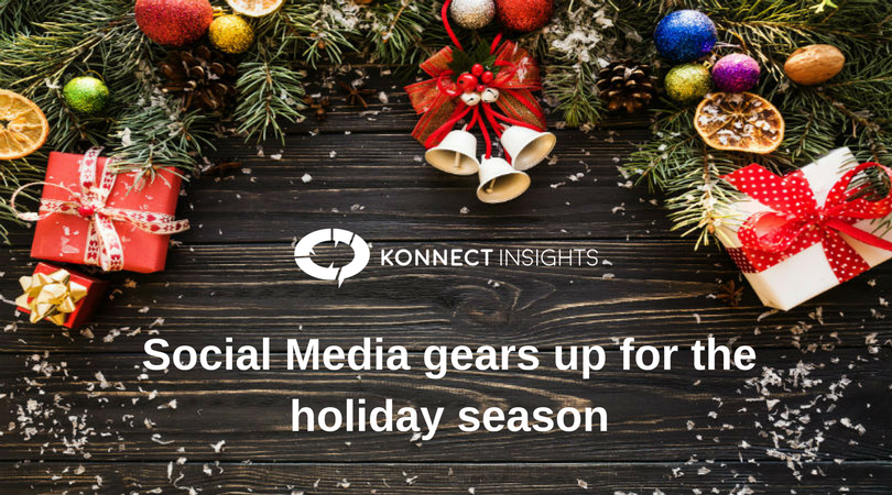 Social Media gears up for the holiday season