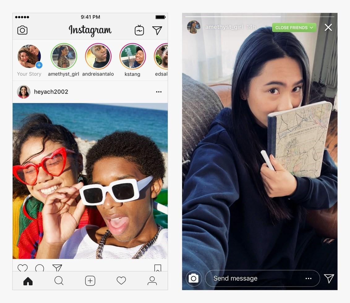Instagram's new feature now lets you share your pics and stories only with your close friends- Konnect Insights