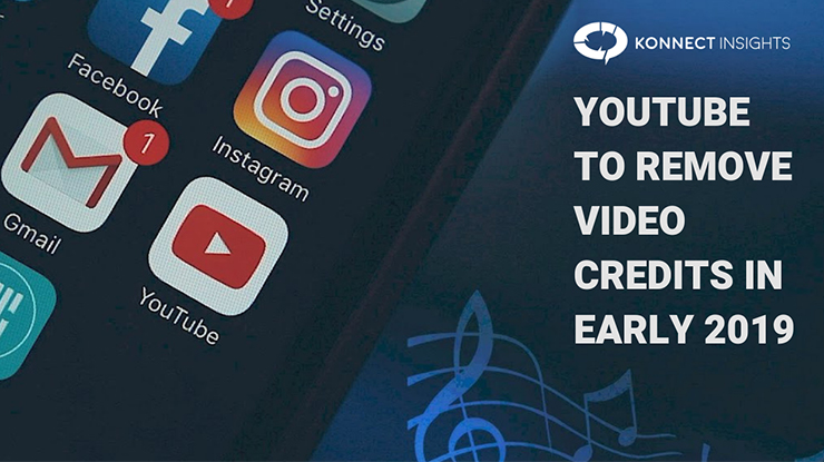 YouTube to remove video credits in early 2019