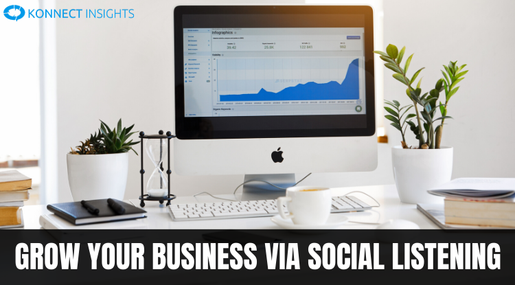 GROW YOUR BUSINESS via SOCIAL LISTENING