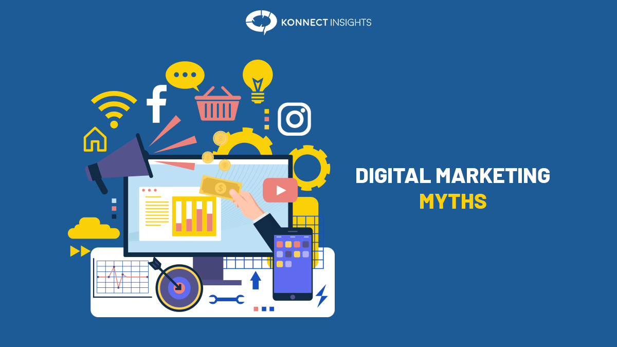 DIGITAL MARKETING MYTHS