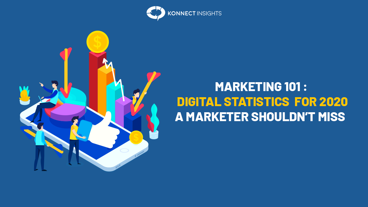 Marketing 101: Digital Statistics For 2020 A Marketer Shouldn't Miss