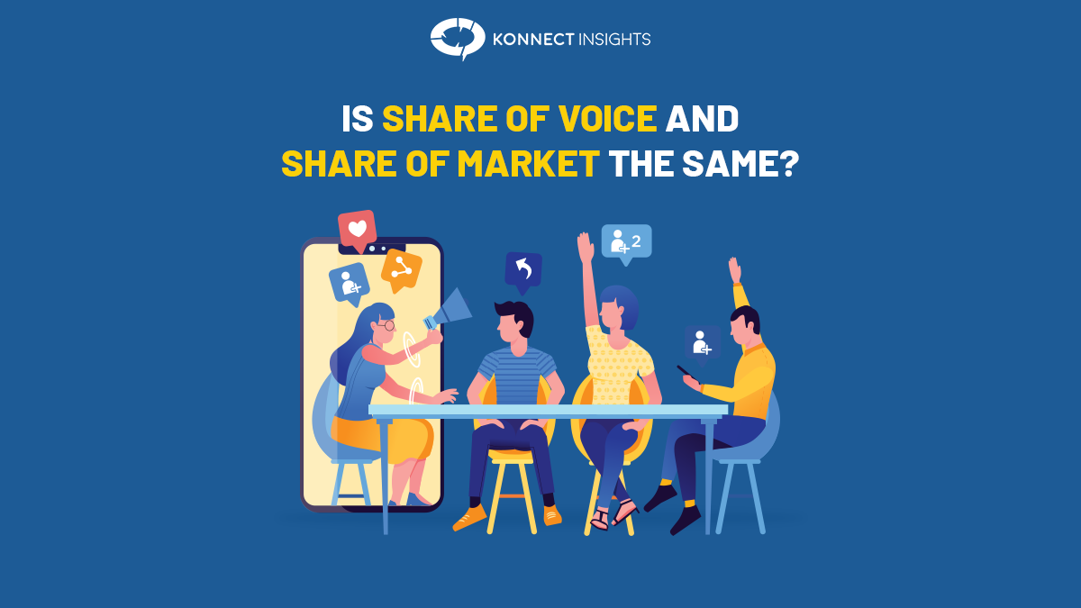 IS SHARE OF VOICE AND SHARE OF MARKET THE SAME?